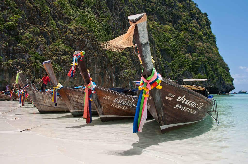 Plaja Maya Bay Thailanda
