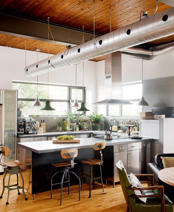 casa cu design industrial 1