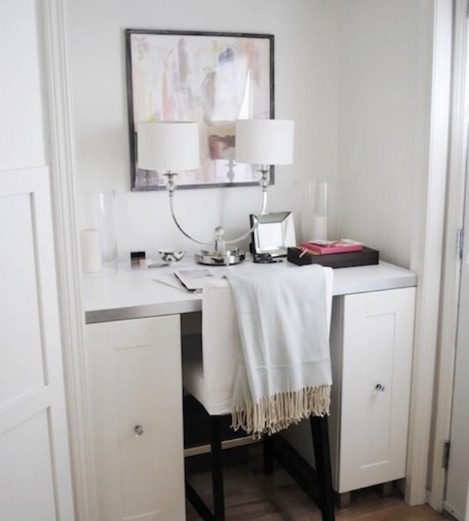 dulap transformat in birou 13