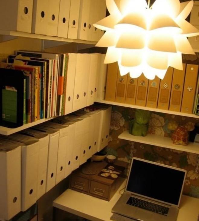 dulap transformat in birou 17