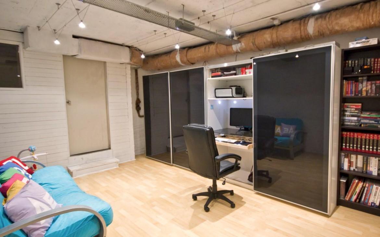 dulap transformat in birou 4