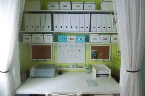 dulap transformat in birou 9
