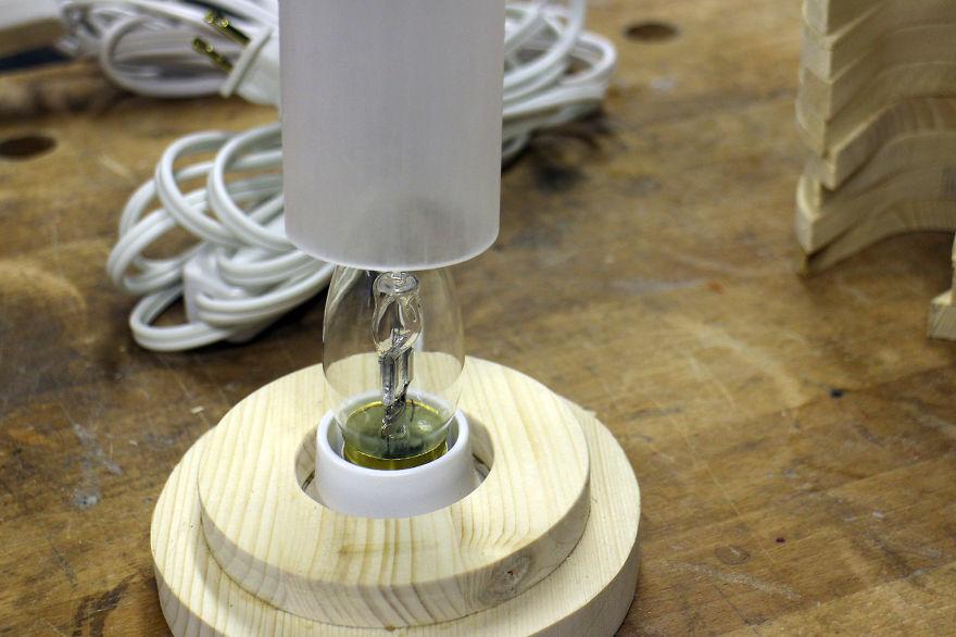 lampa rotativa 8