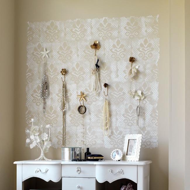 decoratiuni pereti cu dantela 3