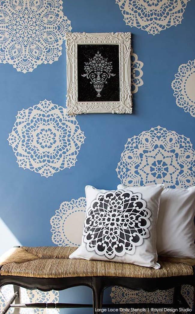 decoratiuni pereti cu dantela 5