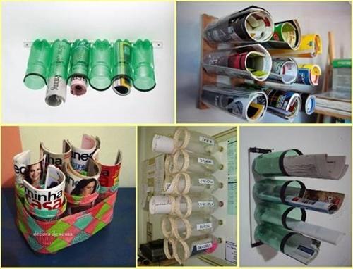 sticle plastic reciclate 3