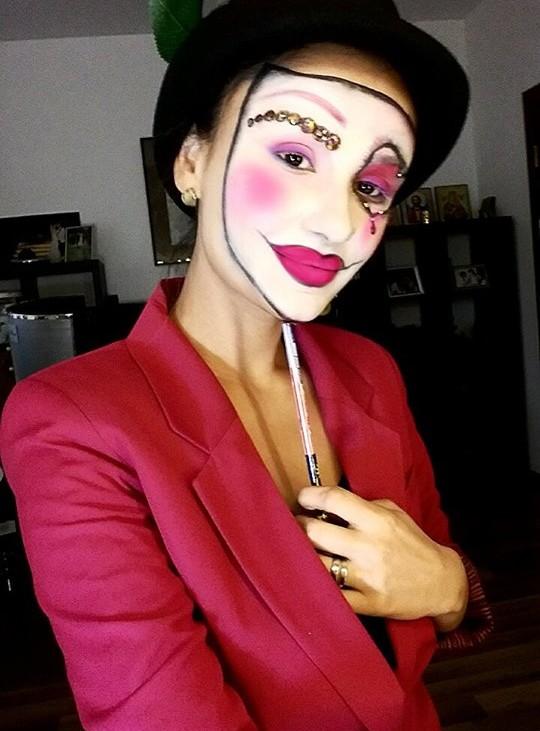 Machiaj Halloween Love Mask