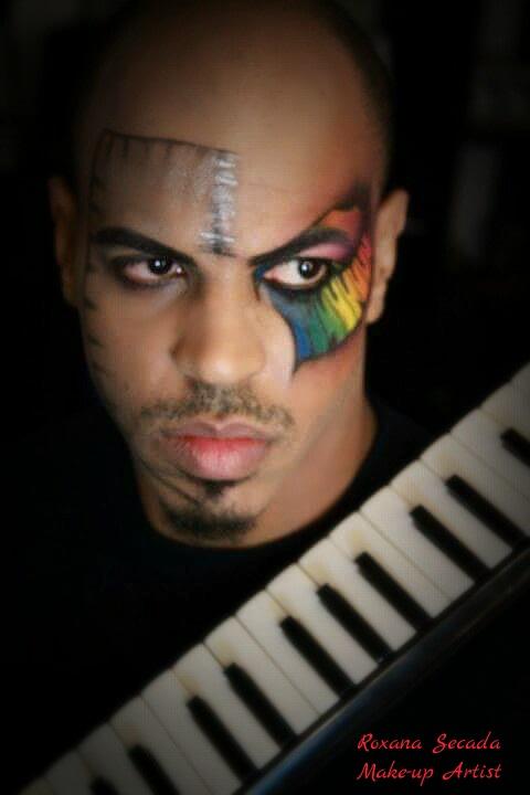 Machiaj Halloween Piano Man 1