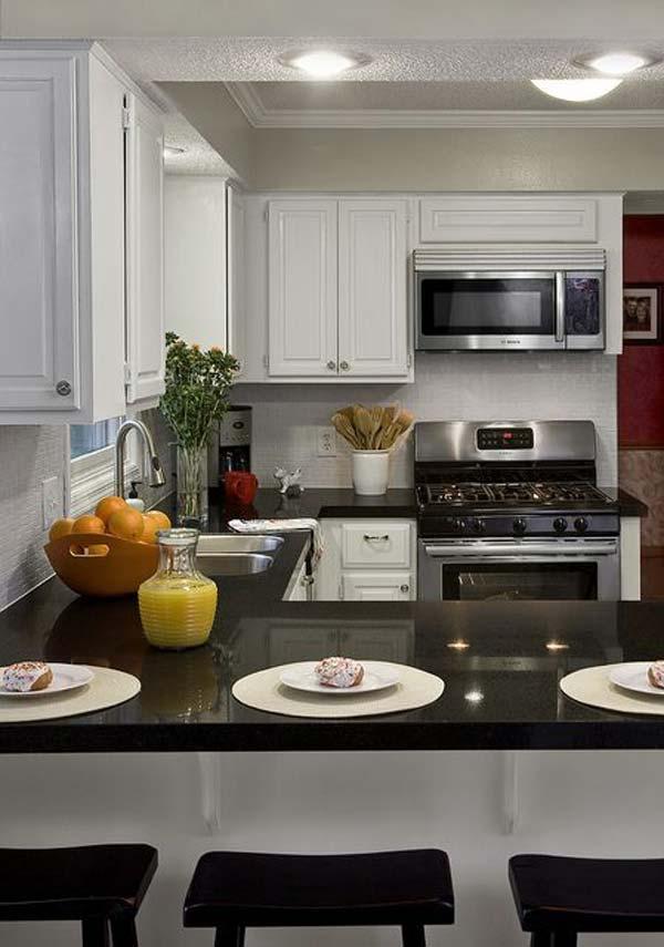 C Shaped Kitchen Design Ideas: 19 Idei De Bucatarii In Forma Literei U Pentru Spatii Mici