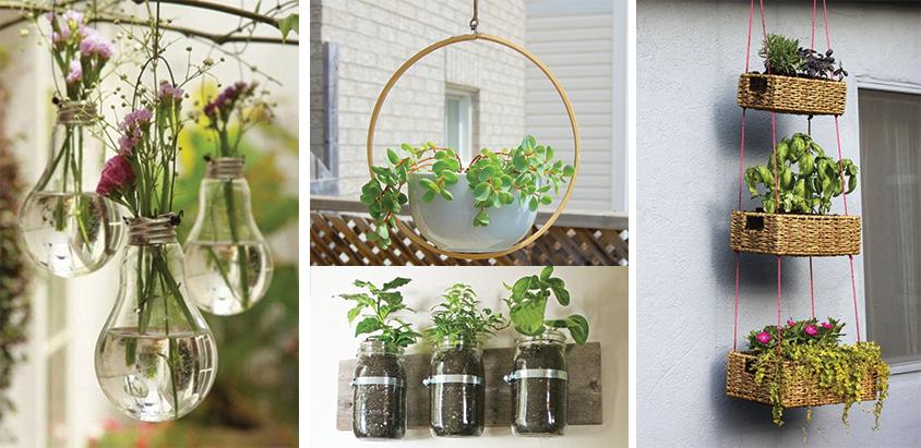 15 idei unice de interior si exterior pentru plante suspendate for Plante de interior