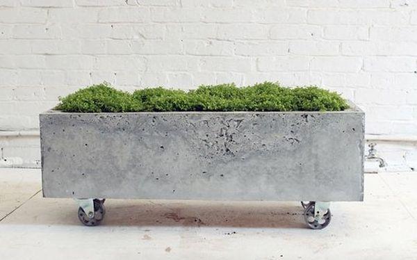 jardiniere mobile din beton 1