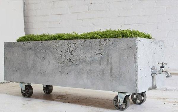 jardiniere mobile din beton 11
