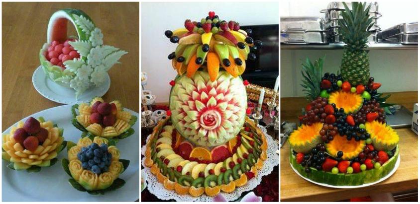 Aranjarea fructelor