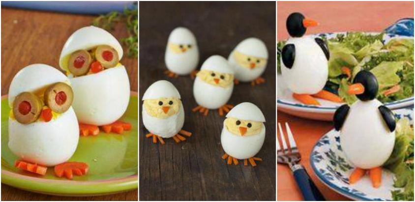 ornamente realizate din oua