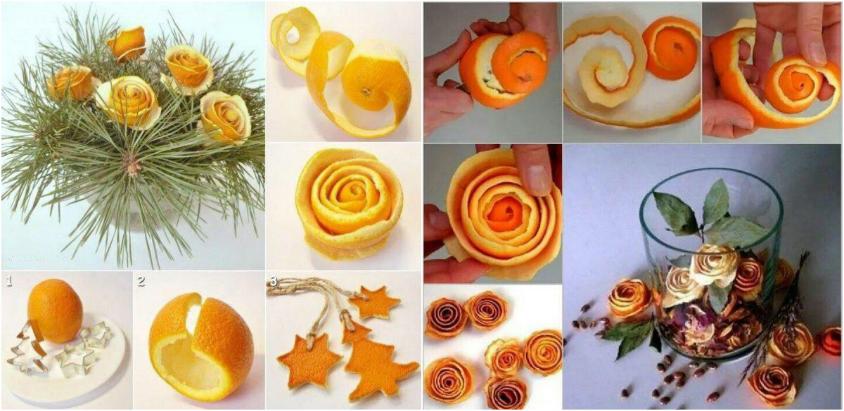 decoratiuni superbe cu miros de portocale