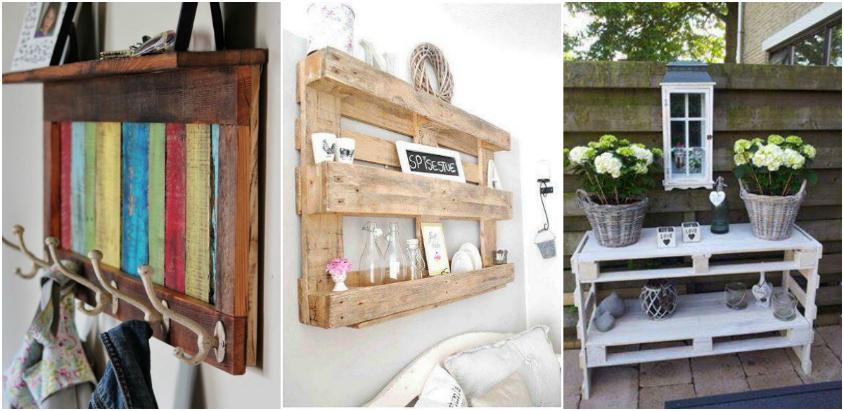 paletii de lemn sunt refolositi creativ