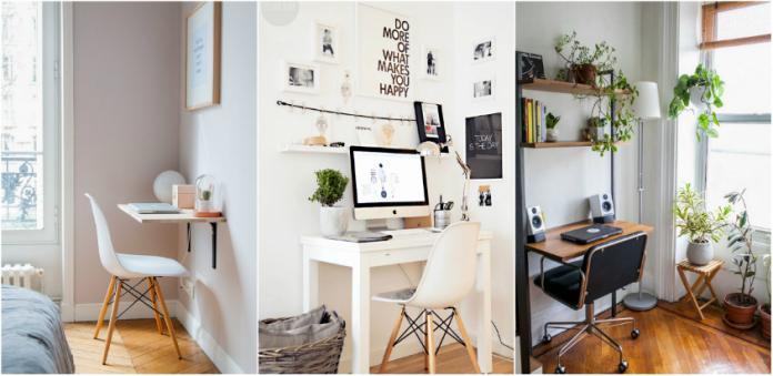 birou micut in casa ta