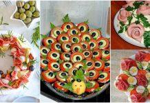 aperitive aranjate spectaculos