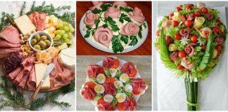 aperitive aranjate frumos