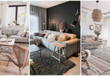 living room scandinav