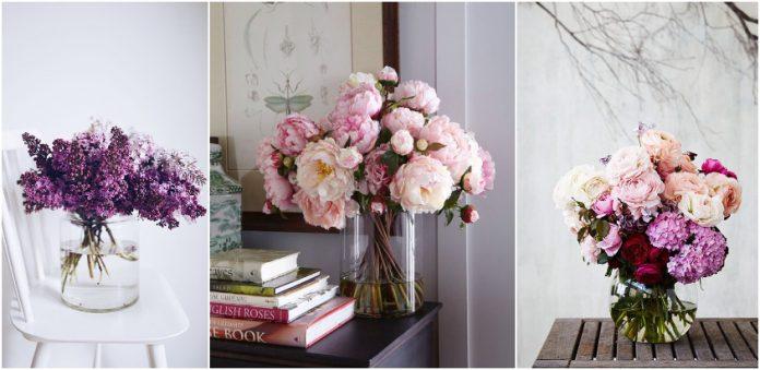 florile din vaza