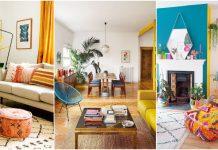 living room plin de culoare